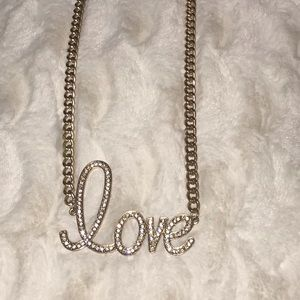 ❤️LOVE Plate Necklace
